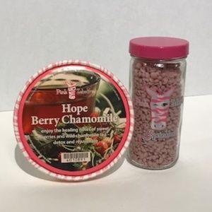 "Pink Zebra: 3.75 oz. ""Hope Berry Chamom"" NWOT"